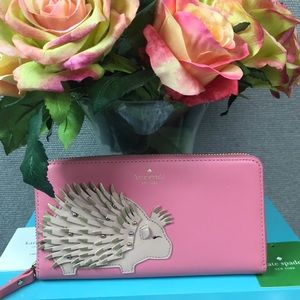 Kate Spade Baja Bound Porcupine Lacey Wallet